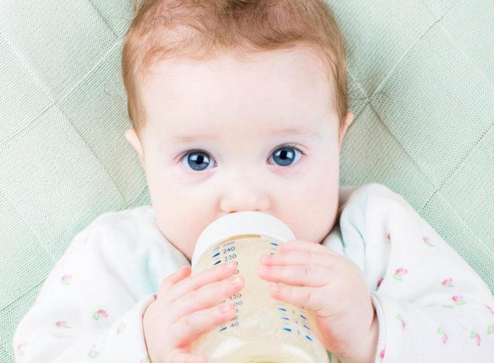 bebes intolerantes ala proteina de la leche de vaca